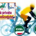 Al Giro d'Italia per rivendicare il Contratto